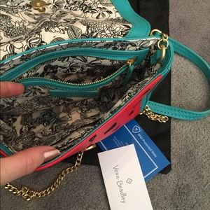 Vera Bradley Bags - Vera Bradley leather watermelon crossbody purse d272f48d0d80c